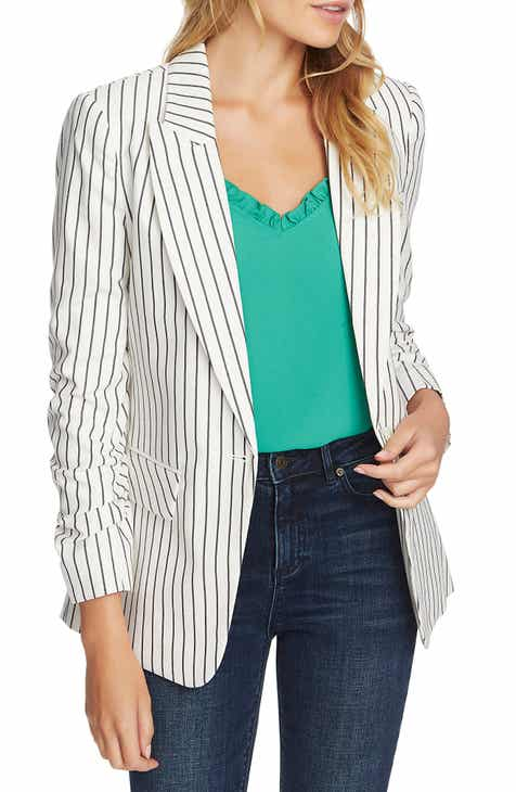 1.STATE Stripe Blazer