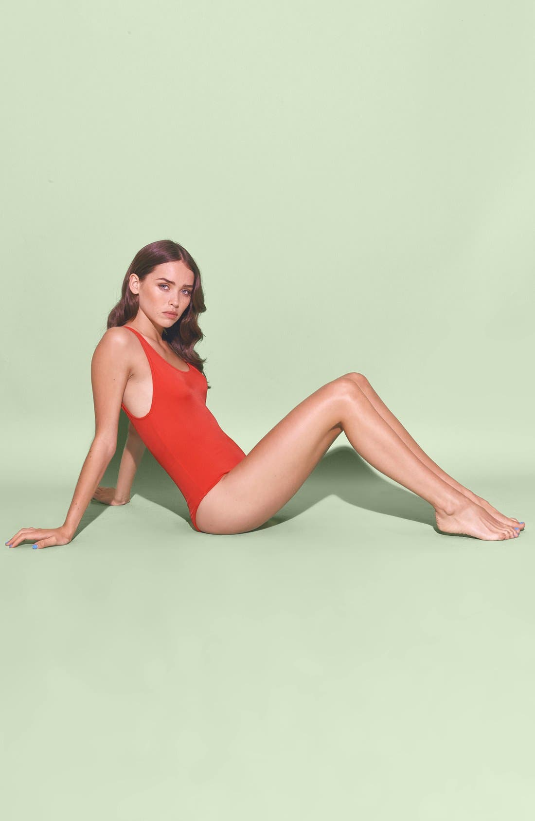 Alternate Image 5  - Solid & Striped 'Anne-Marie' One Piece Swimsuit (Women)