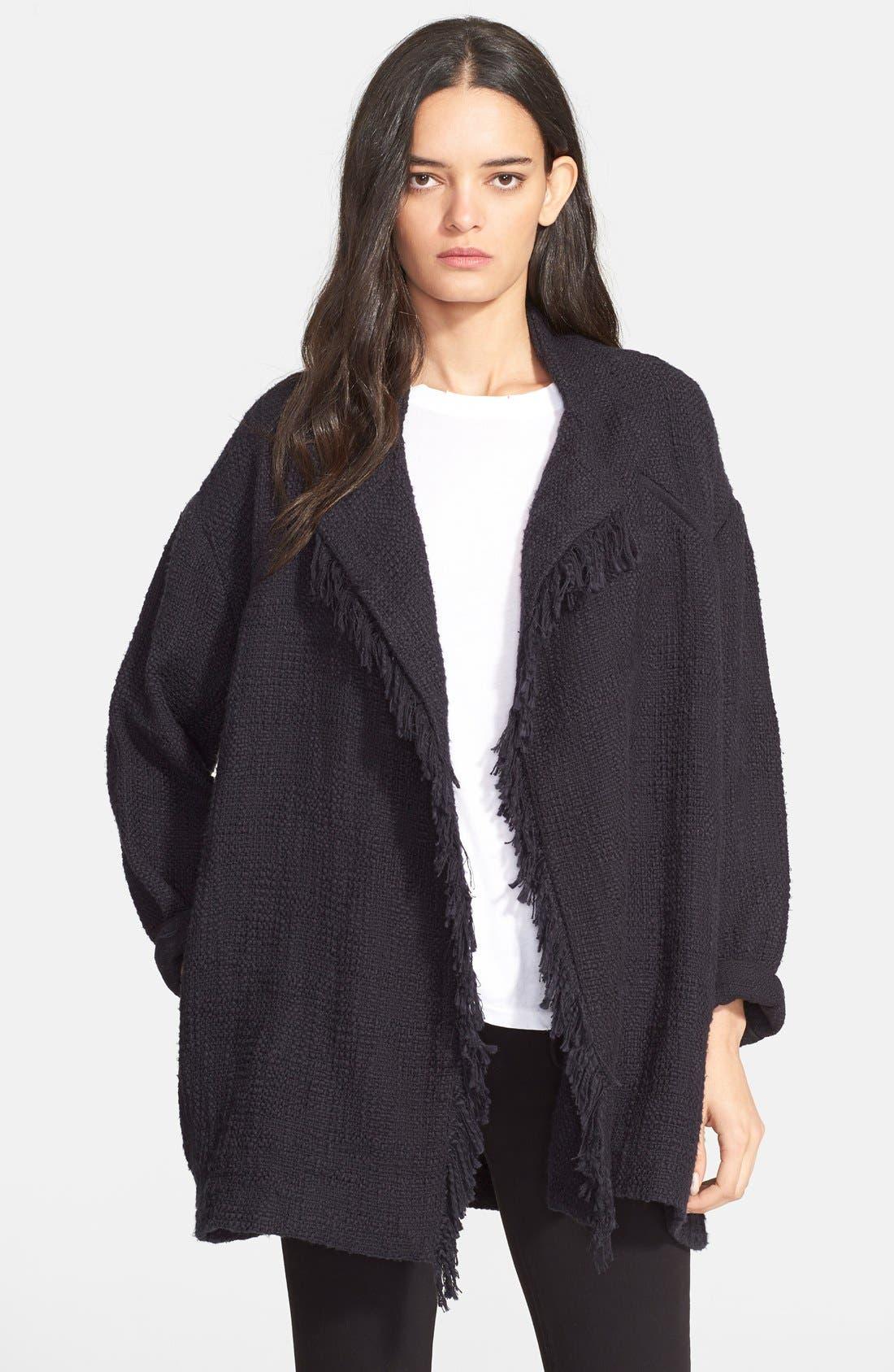 Alternate Image 1 Selected - IRO 'Cauley' Oversize Cardigan Jacket