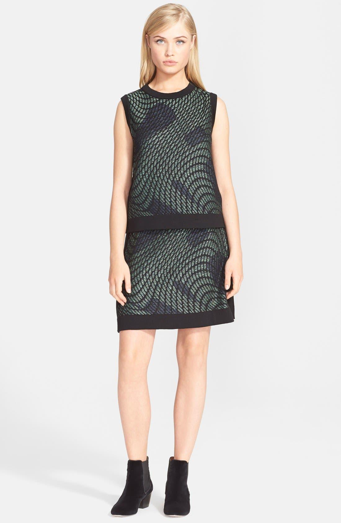 Alternate Image 3  - M Missoni Graphic Knit Skirt