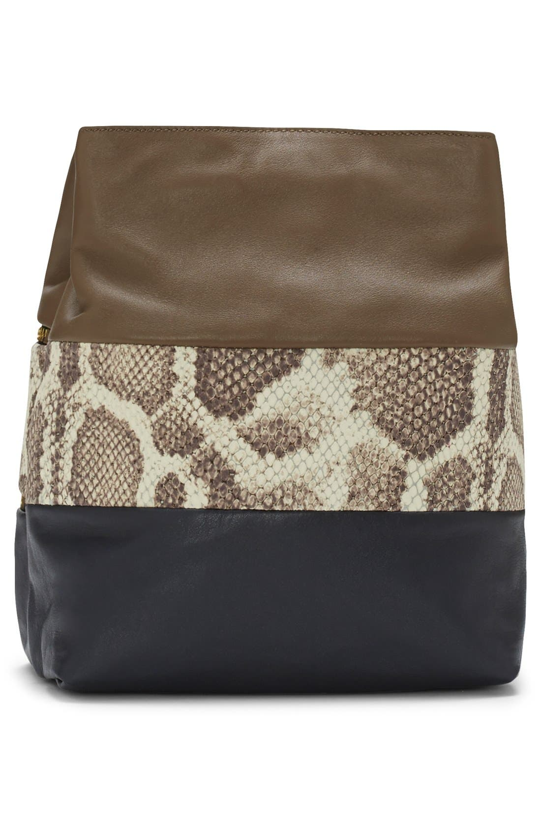 Alternate Image 2  - Vince Camuto 'Meg' Pebbled Leather Bucket Bag