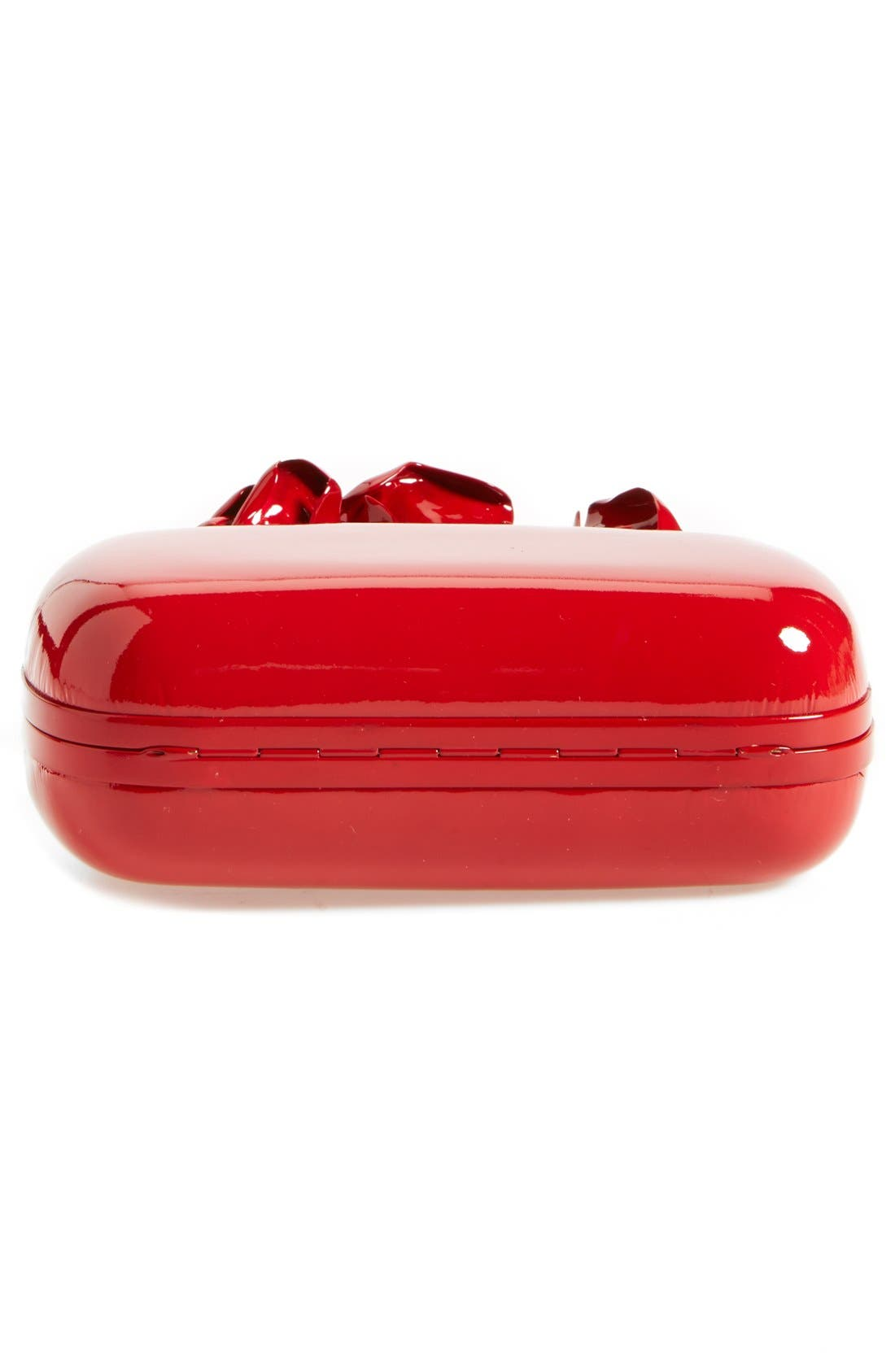 Alternate Image 5  - Alexander McQueen 'Lacquered Rose' Knuckle Box Clutch