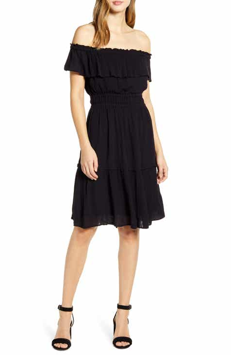 Tommy Bahama Caicos Off the Shoulder Dress