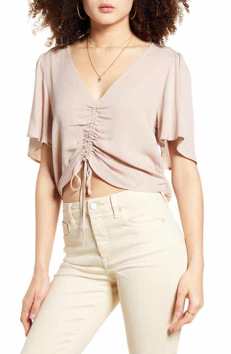 Band of Gypsies Toulon Ruched Top