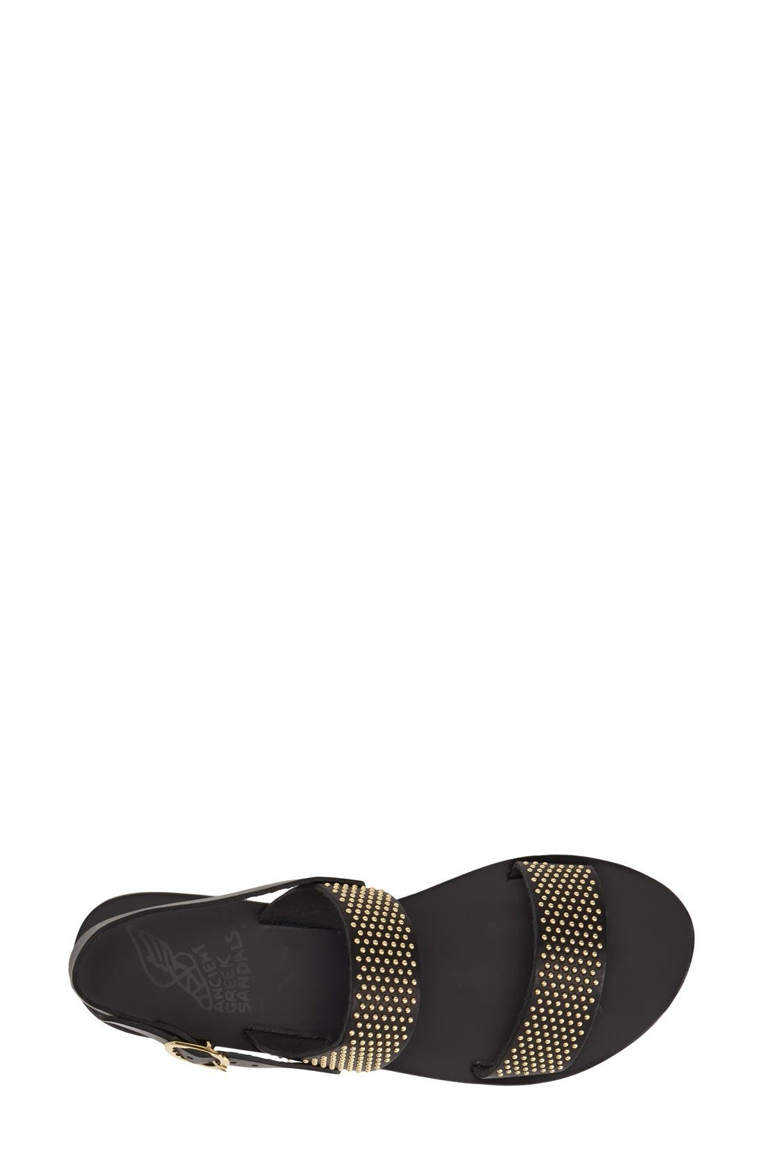 Alternate Image 3  - Ancient Greek Sandals 'Dinami' Studded Double Band Sandal (Women)