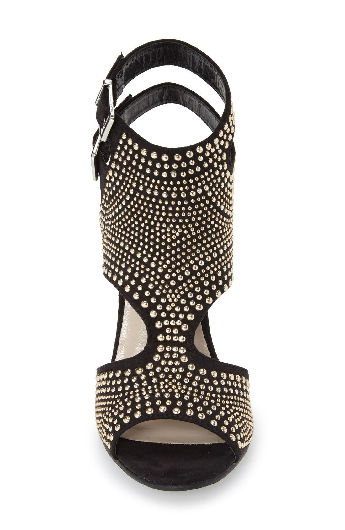 Alternate Image 3  - N.Y.L.A. 'Pemkrook' Studded Cutout Sandal (Women)