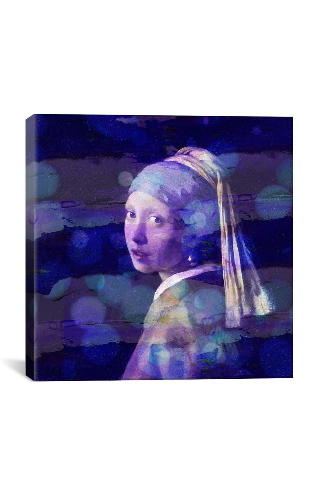 'Short Stories - Julian Spencer' Giclée Print Canvas Art,                         Main,                         color, Blue
