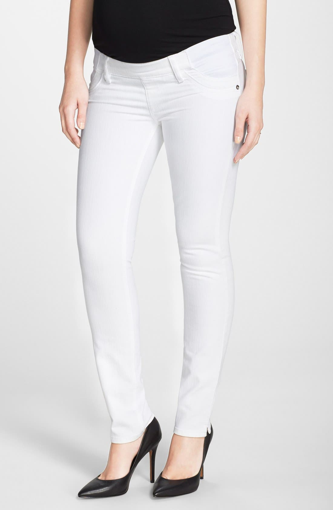 DL1961 'Angel' Ankle Cigarette Maternity Jeans (Lily)