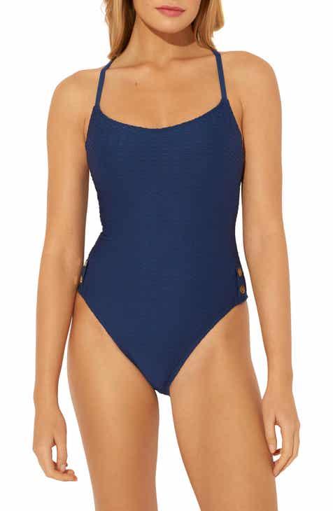 BLEU by Rod Beattie Floating Underwire One-Piece Swimsuit