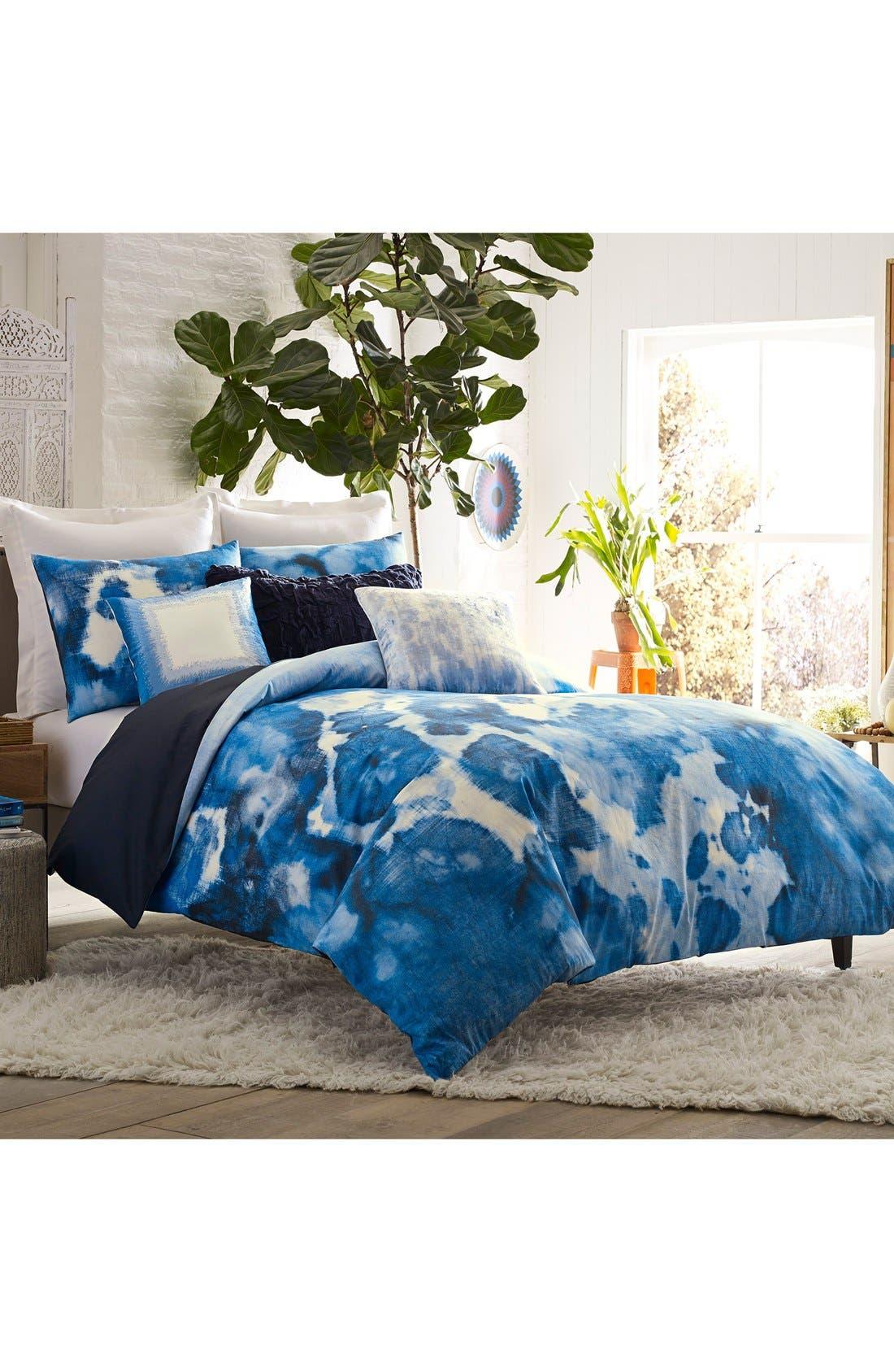 Alternate Image 2  - Blissliving Home Casa Azul Reversible Duvet Cover & Sham Set