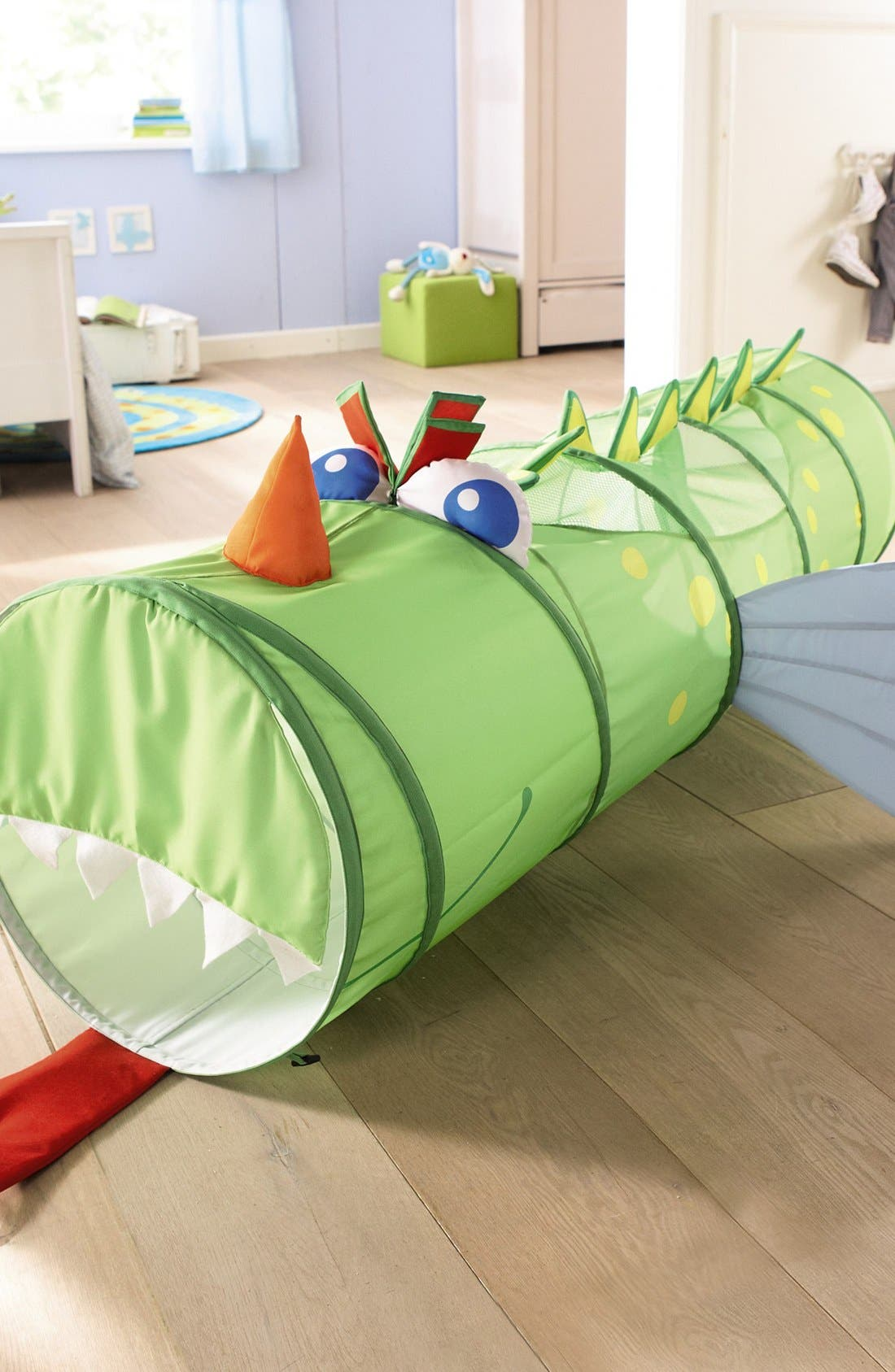 'Croco Kuno' Dragon Crawling Tunnel,                             Alternate thumbnail 3, color,                             Green