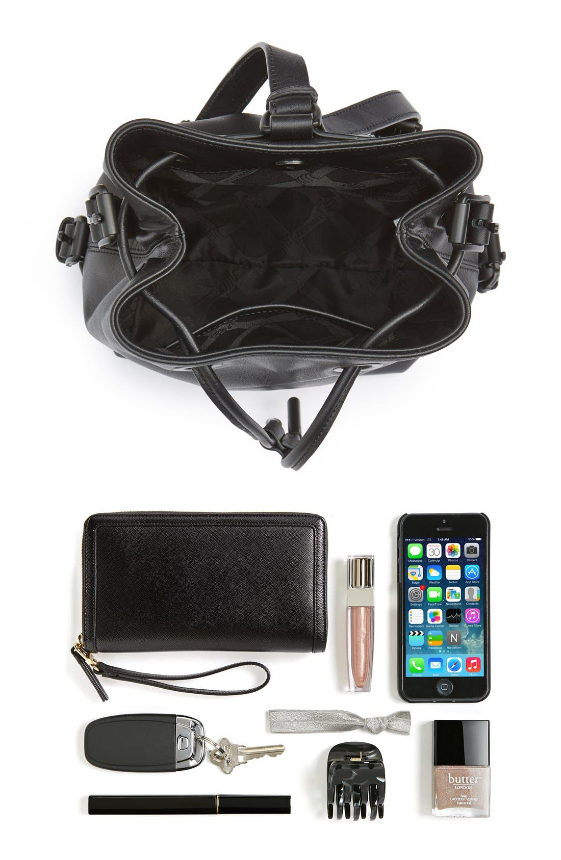 Alternate Image 7  - Opening Ceremony 'Mini Izzy' Convertible Leather Backpack