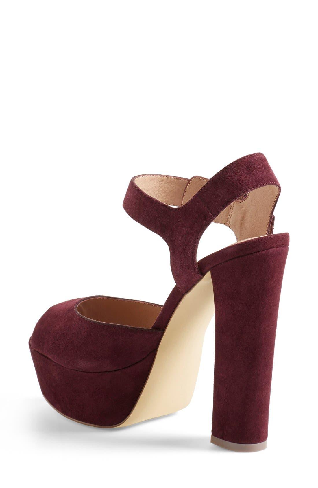 Alternate Image 2  - Steve Madden 'Jillyy' Platform Sandal (Women)