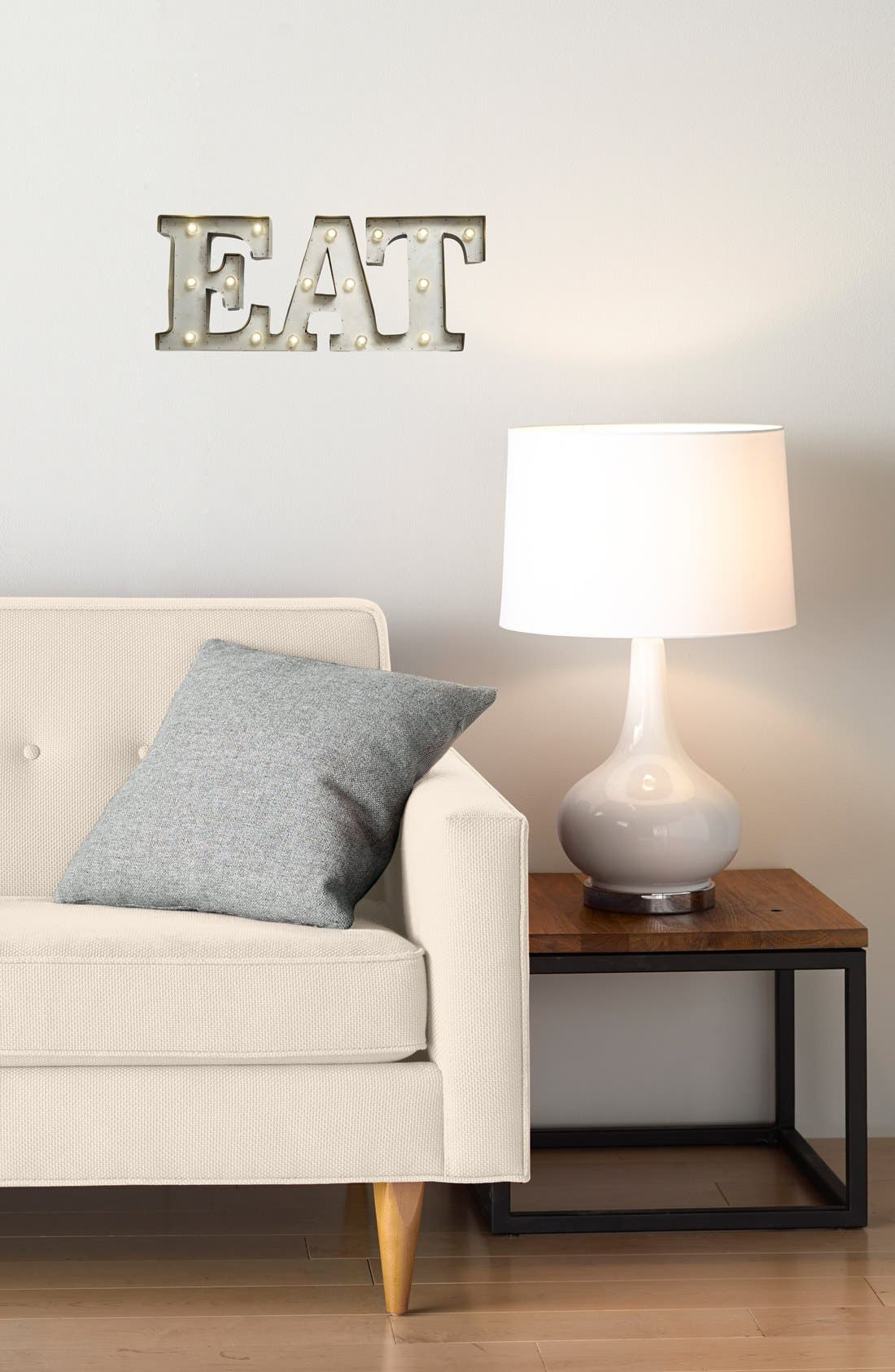 Alternate Image 2  - Creative Co-Op 'EAT' LED Marquee Sign