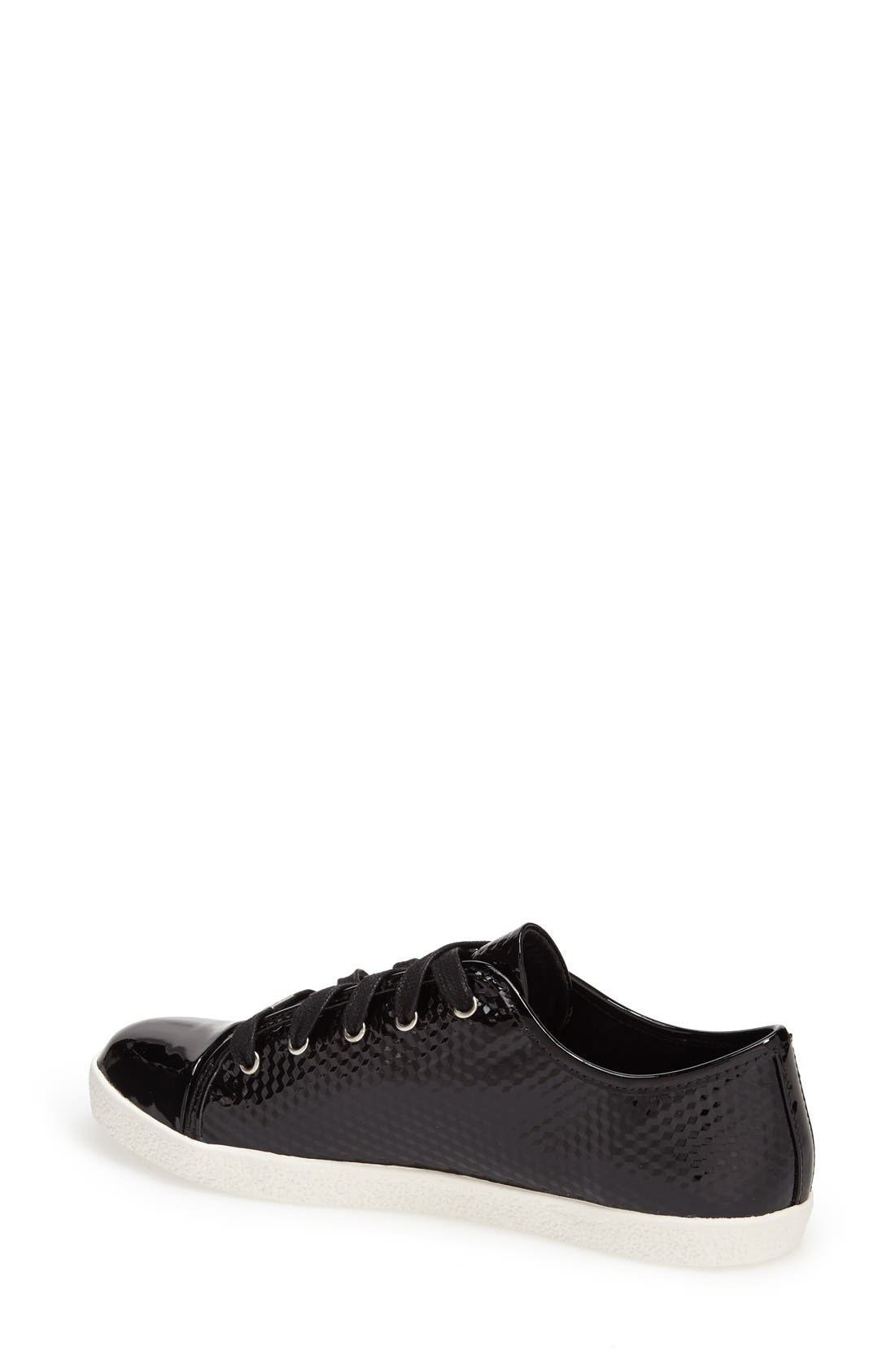 Alternate Image 2  - Delman 'Magie' Low Top Sneaker (Women)