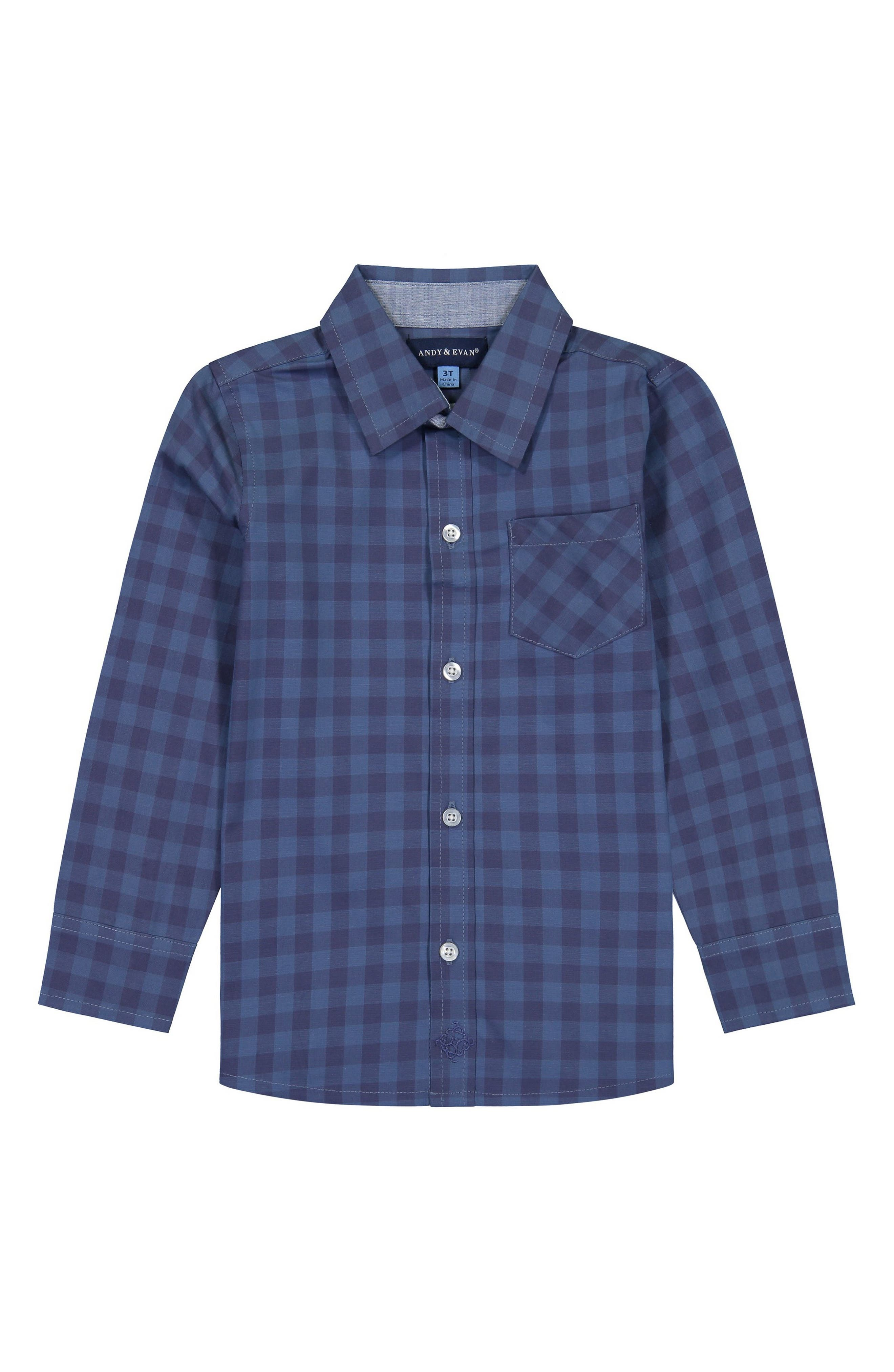 URMAGIC Boys Shirts Toddler Kids Plaid Blouse Button Tops Long Sleeve Casual Shirts Autumn Spring Clothes