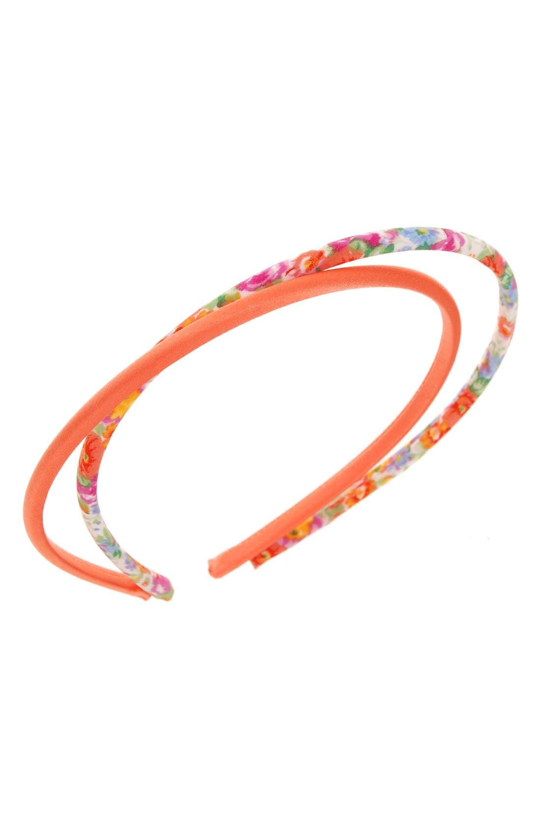 L. Erickson Skinny Silk Headbands (2-Pack) (Girls)
