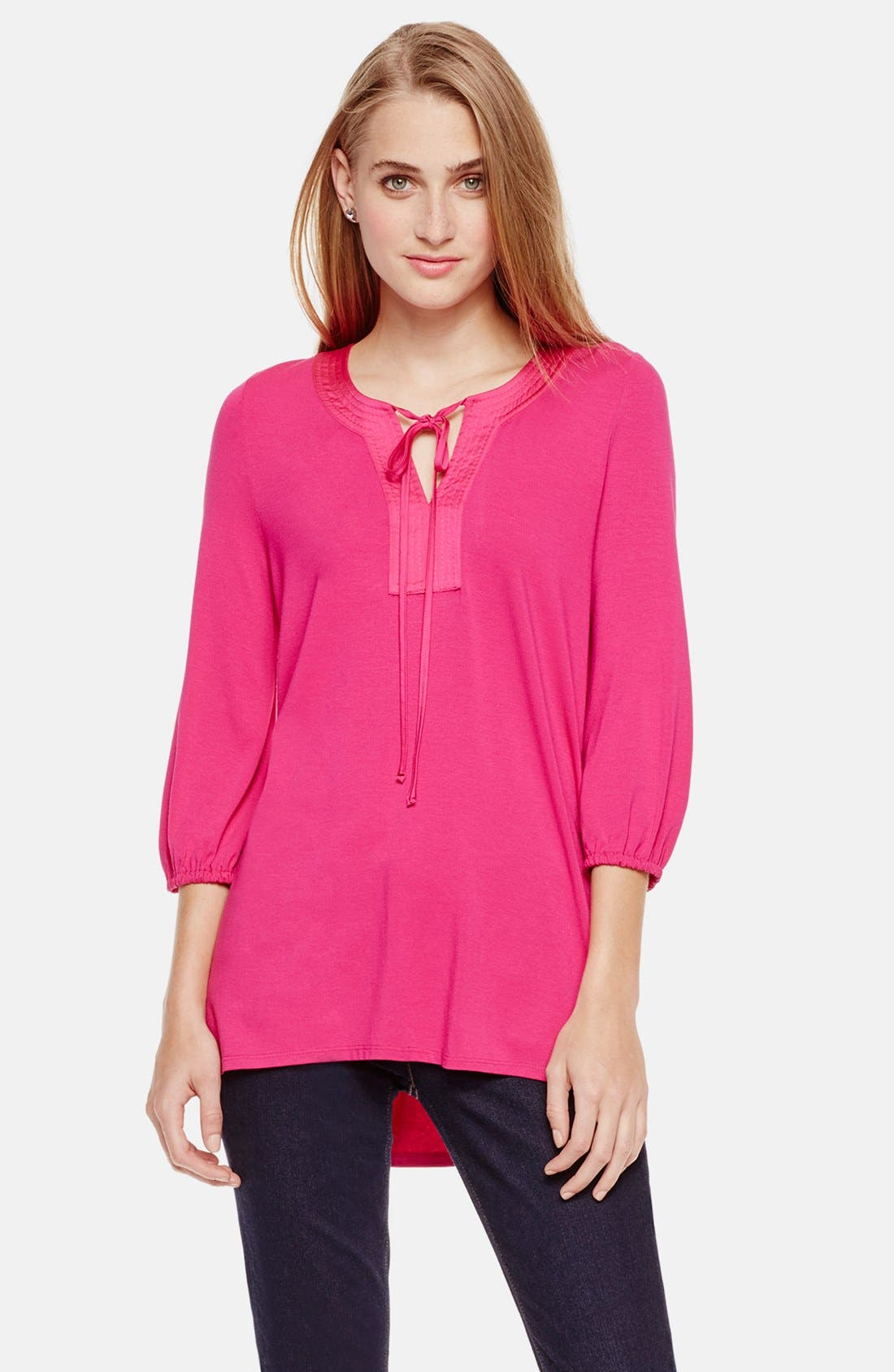 Main Image - Two by Vince Camuto Peasant Style Tunic