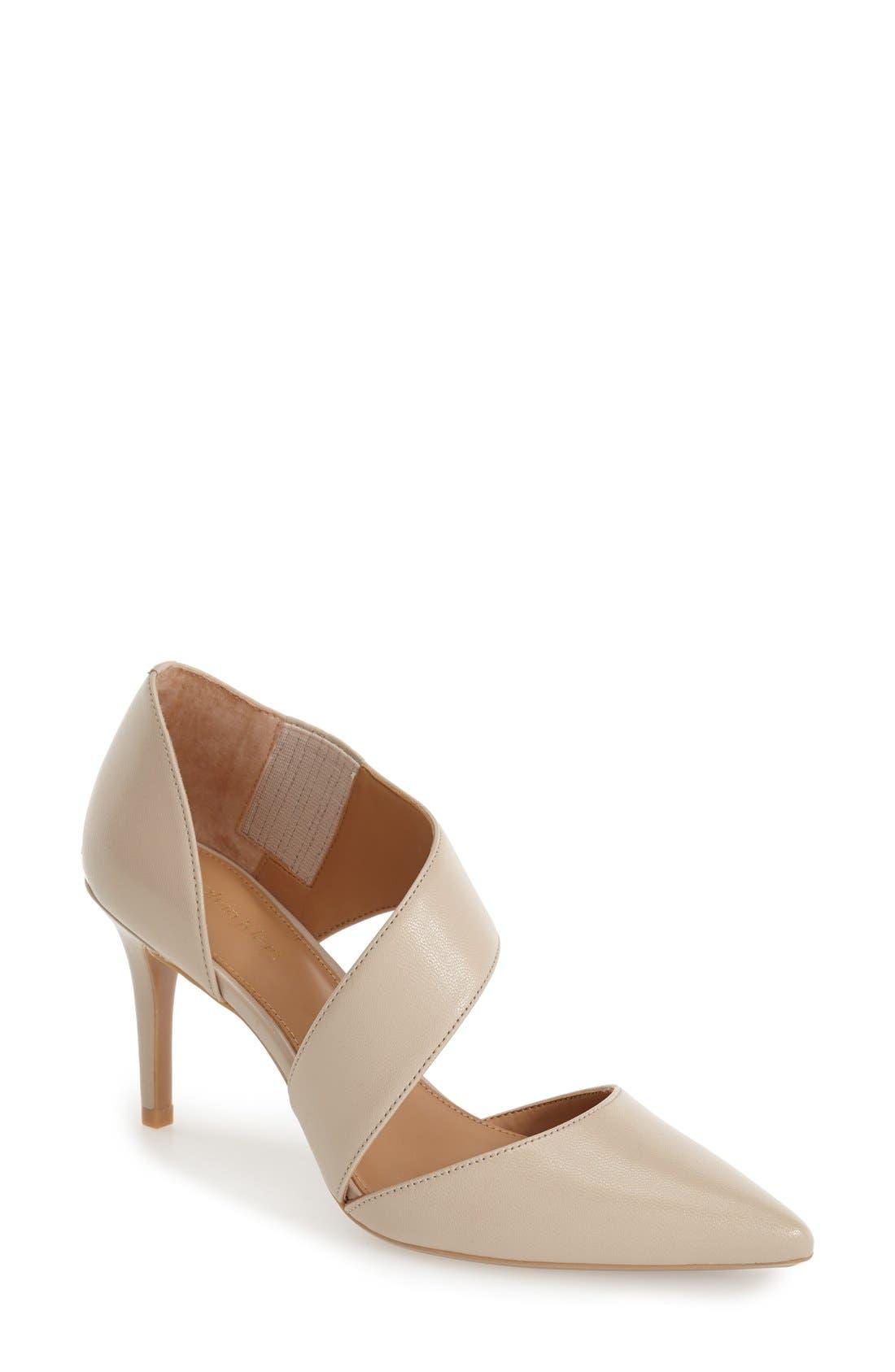 Alternate Image 1 Selected - Calvin Klein 'Gella' Pointy Toe Pump (Women)
