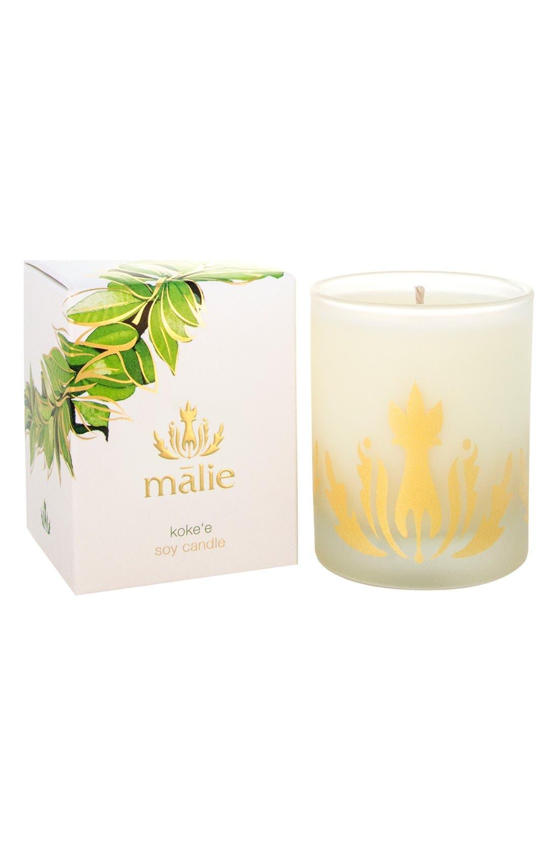 Alternate Image 1 Selected - Malie Organics Koke'e Soy Candle