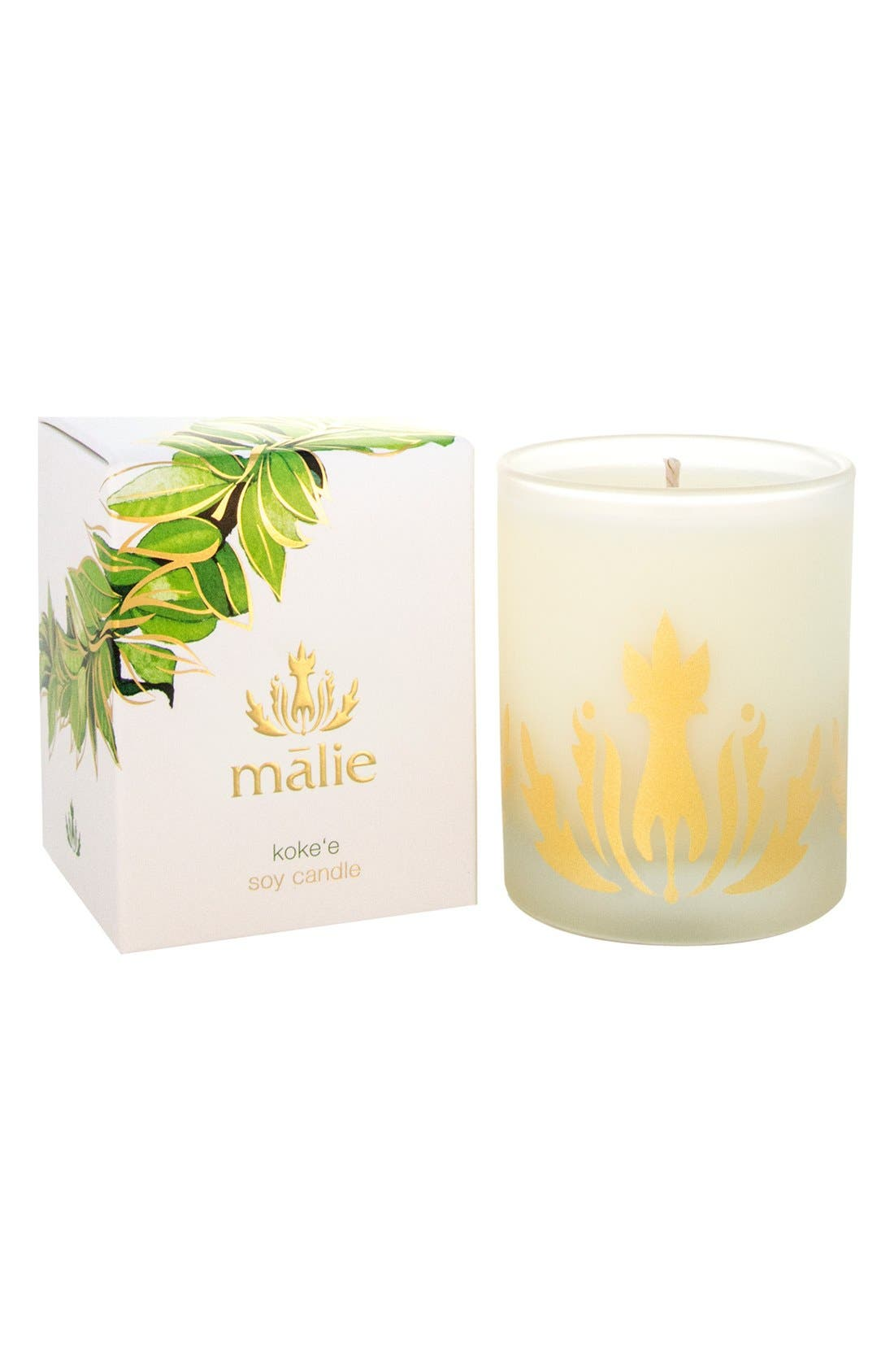 Main Image - Malie Organics Koke'e Soy Candle