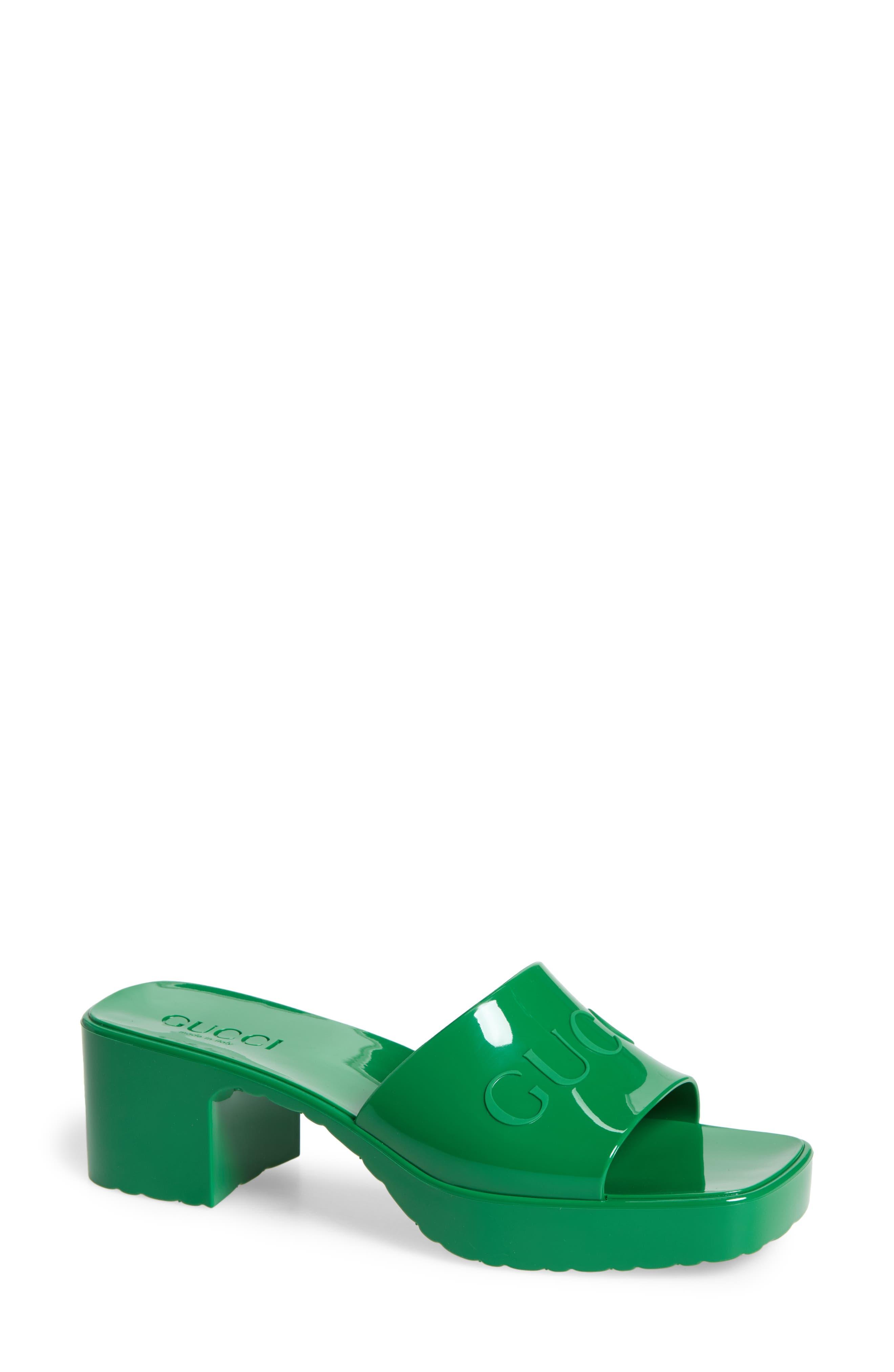 Scholl Linea Greeny Greeny Mule