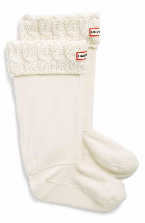 Hunter Short Fleece Welly Boot Socks by HUNTER