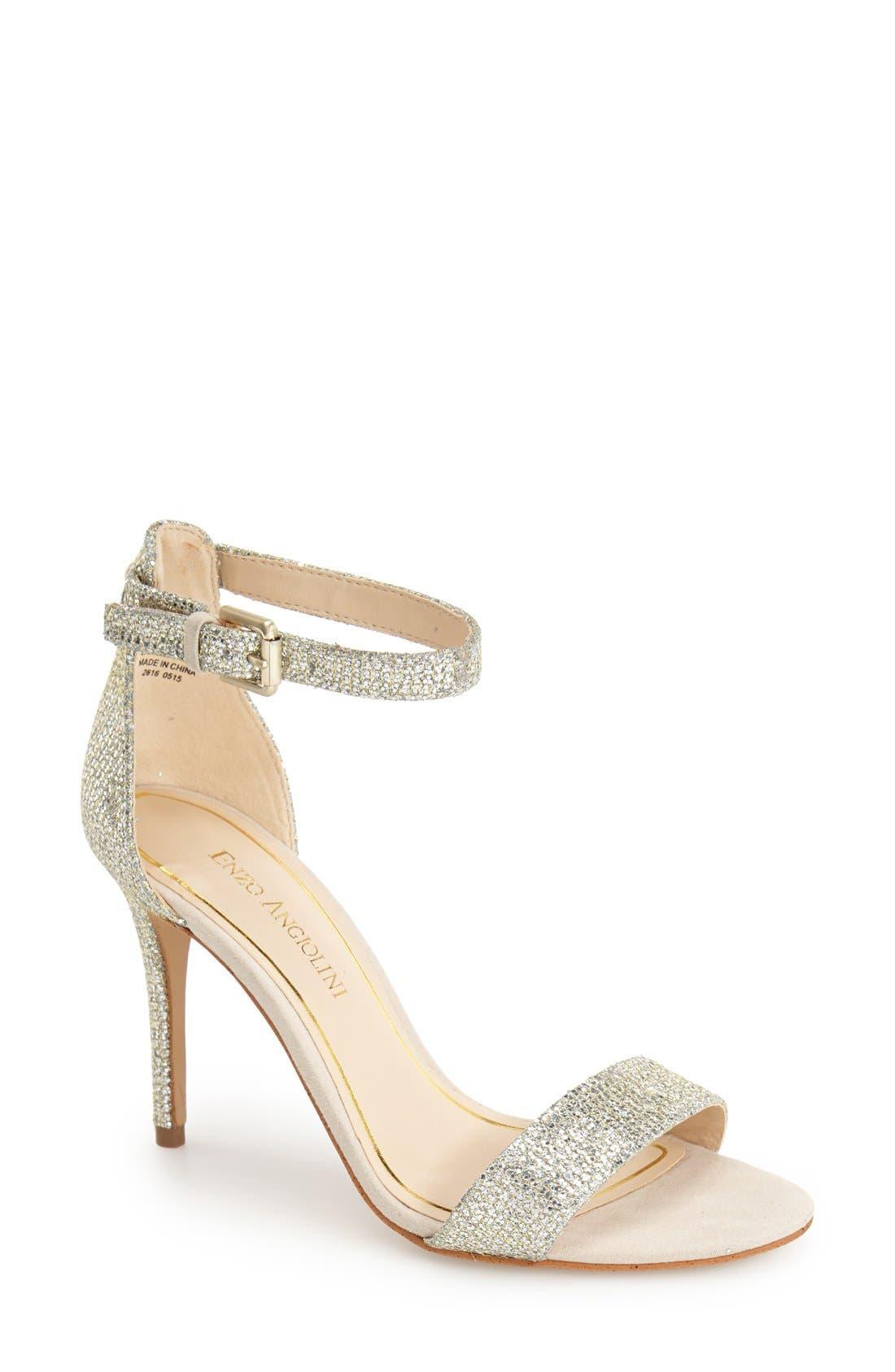 Alternate Image 1 Selected - Enzo Angiolini 'Manna' Ankle Strap Sandal (Women)