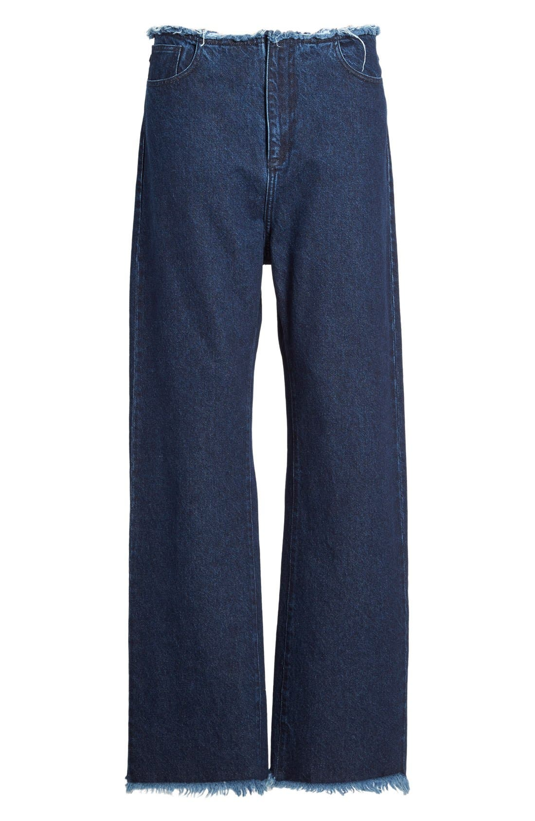 Alternate Image 4  - Marques'Almeida Relaxed Boyfriend Jeans