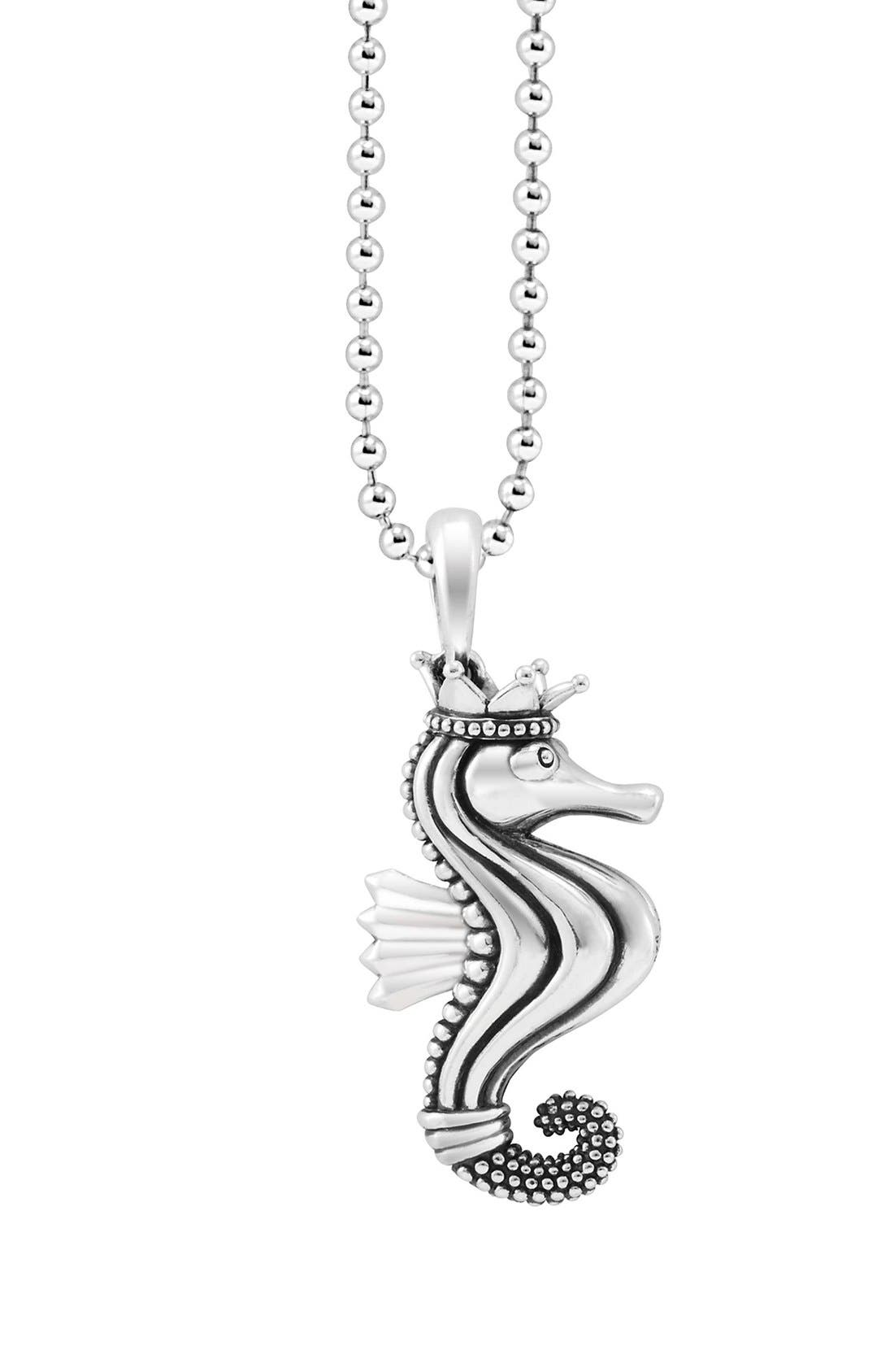 Alternate Image 5  - LAGOS 'Rare Wonders - Seahorse' Long Talisman Necklace