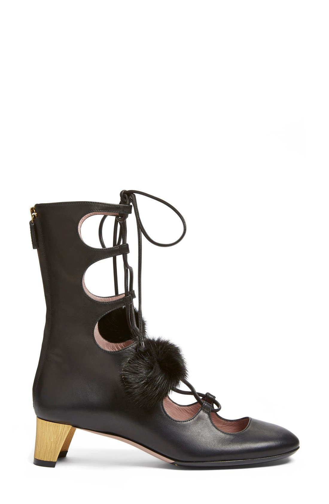 Alternate Image 4  - Gucci 'Heloise' Lace-Up Boot (Women)