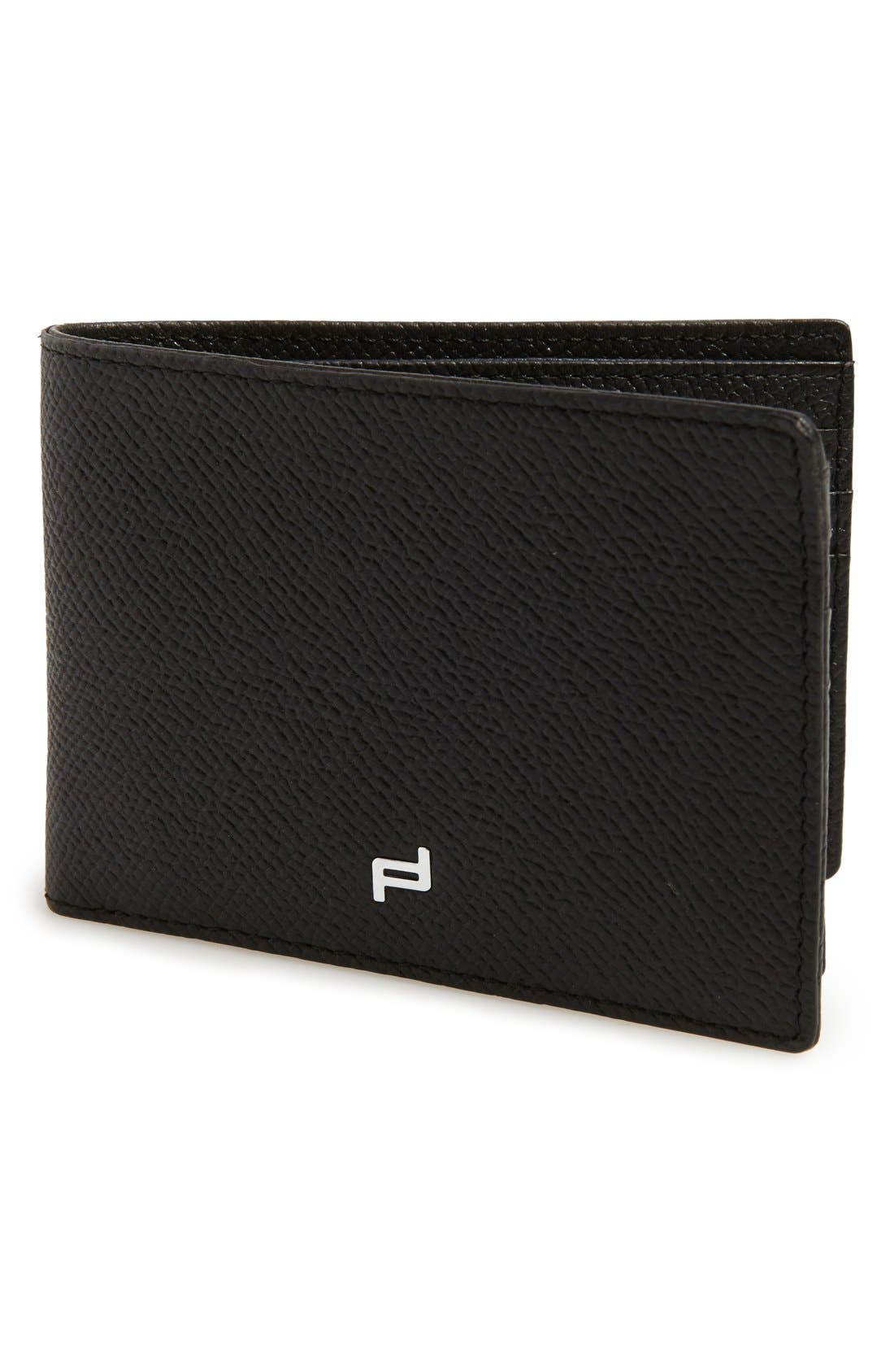 'FC 3.0' Leather L-Fold Wallet,                             Main thumbnail 1, color,                             Black
