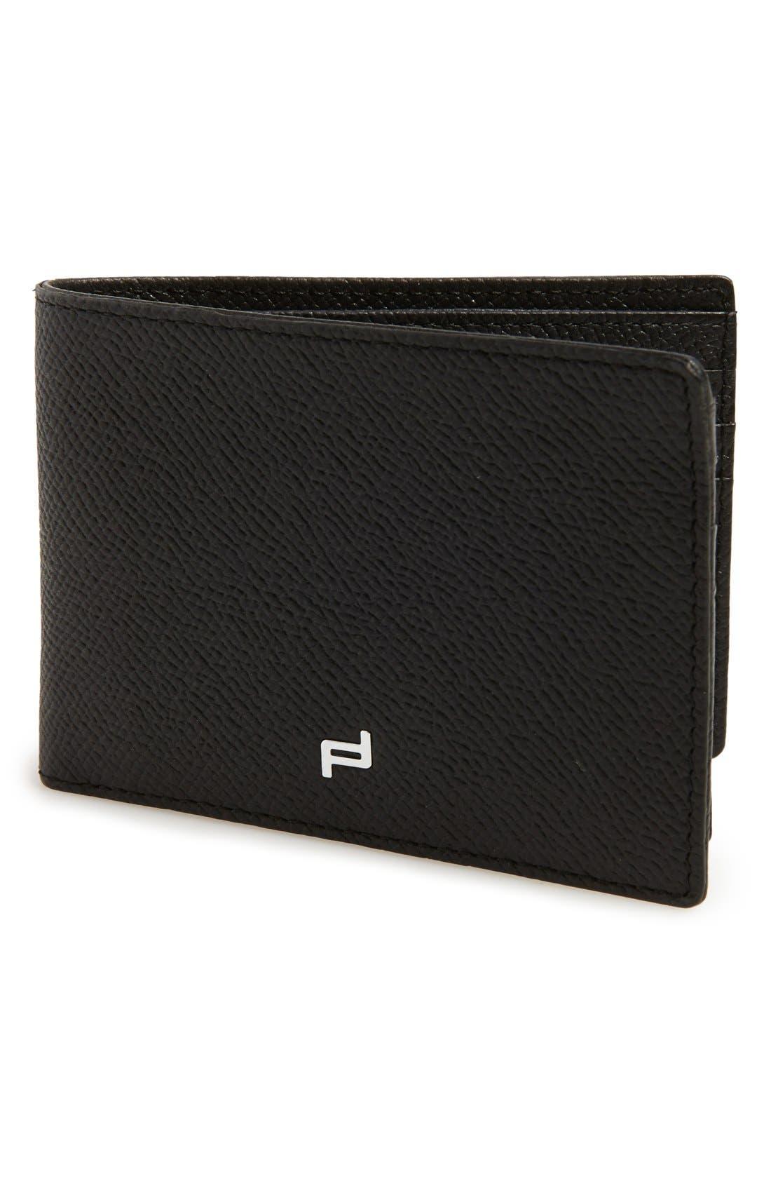 Porsche Design 'FC 3.0' Leather L-Fold Wallet