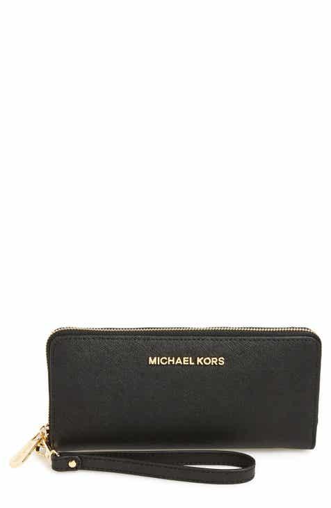 MICHAEL Michael Kors  Jet Set  Leather Travel Wallet e53ad9cd1cd