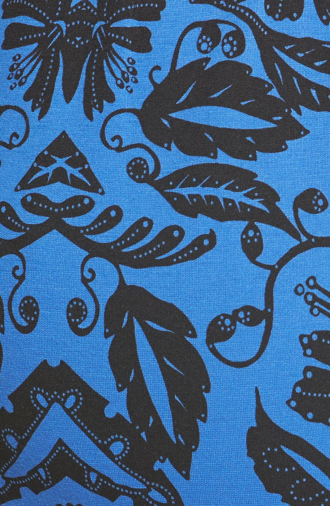 Alternate Image 4  - Eliza J Print Ponte Shift Dress (Regular & Petite)
