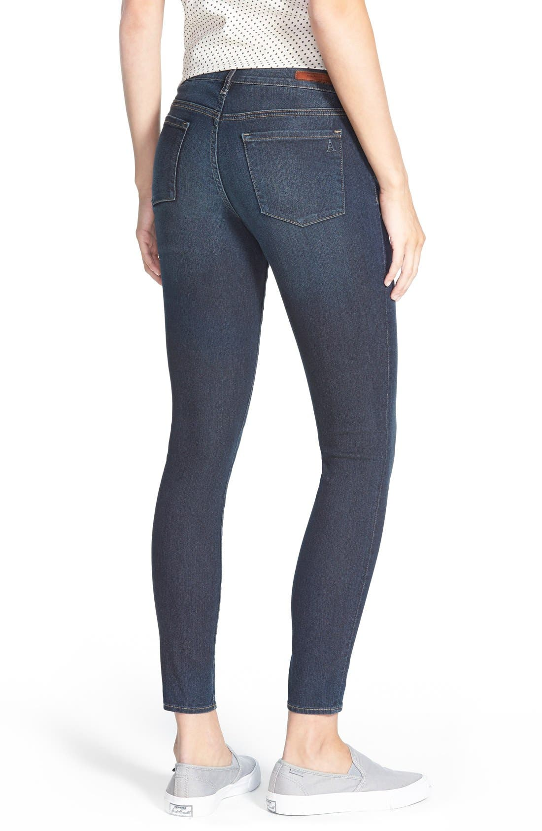 Alternate Image 3  - Articles of Society 'Sarah' Skinny Jeans (Blue Moon)