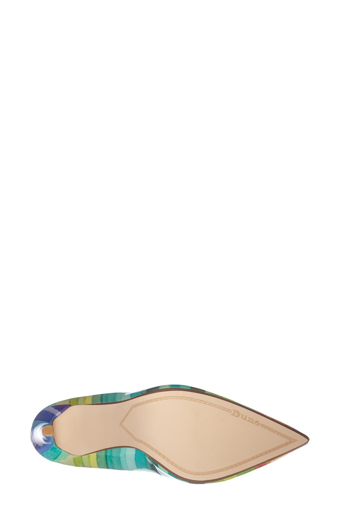 Alternate Image 4  - Dune London 'Brooks' Pointy Toe Pump (Women)