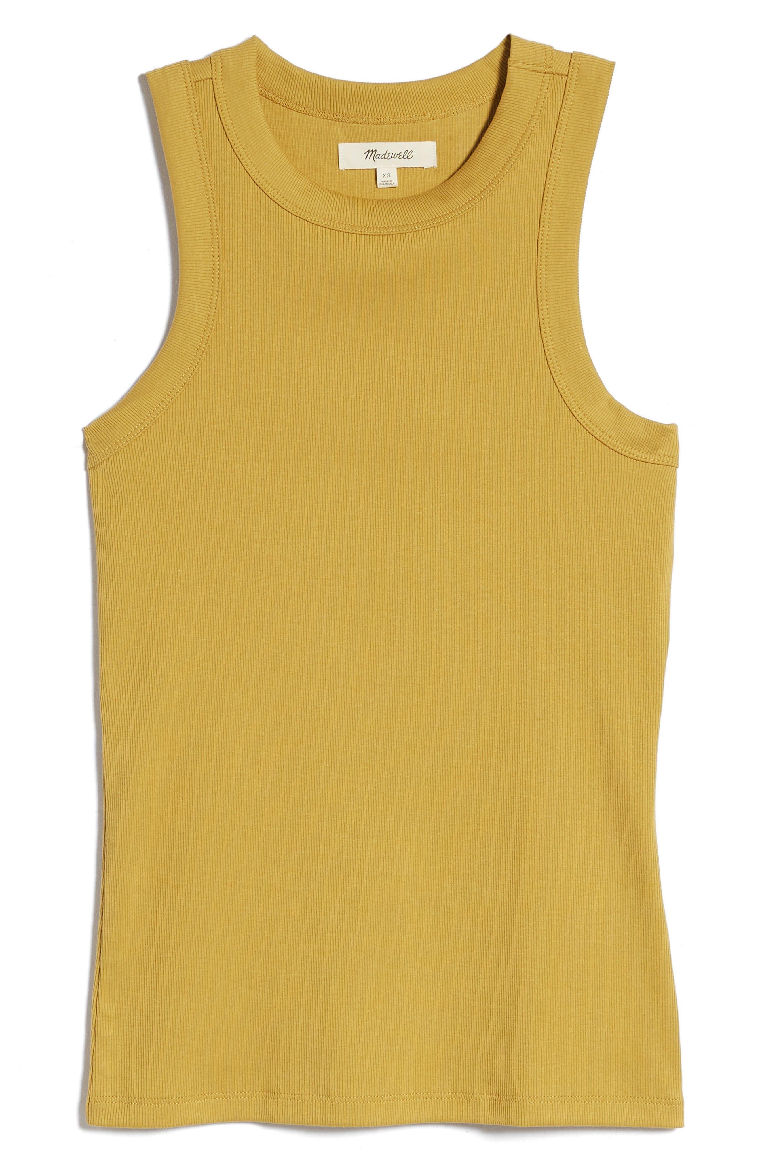 Jones New York Top Colorful Geo Style Chic Sleeveless High Neck Tank  size S