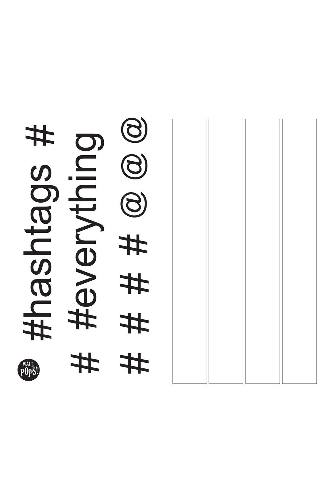 Alternate Image 3  - Wallpops 'Hashtag' Dry Erase Wall Decals (Set of 14)