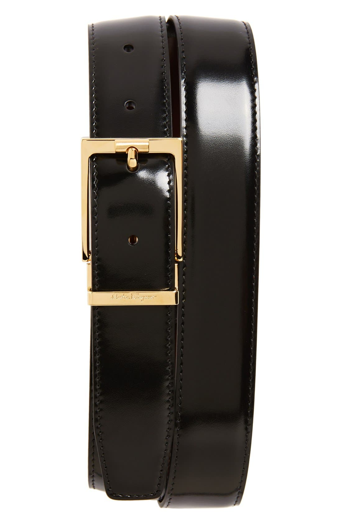 Alternate Image 3  - Salvatore Ferragamo Reversible Belt