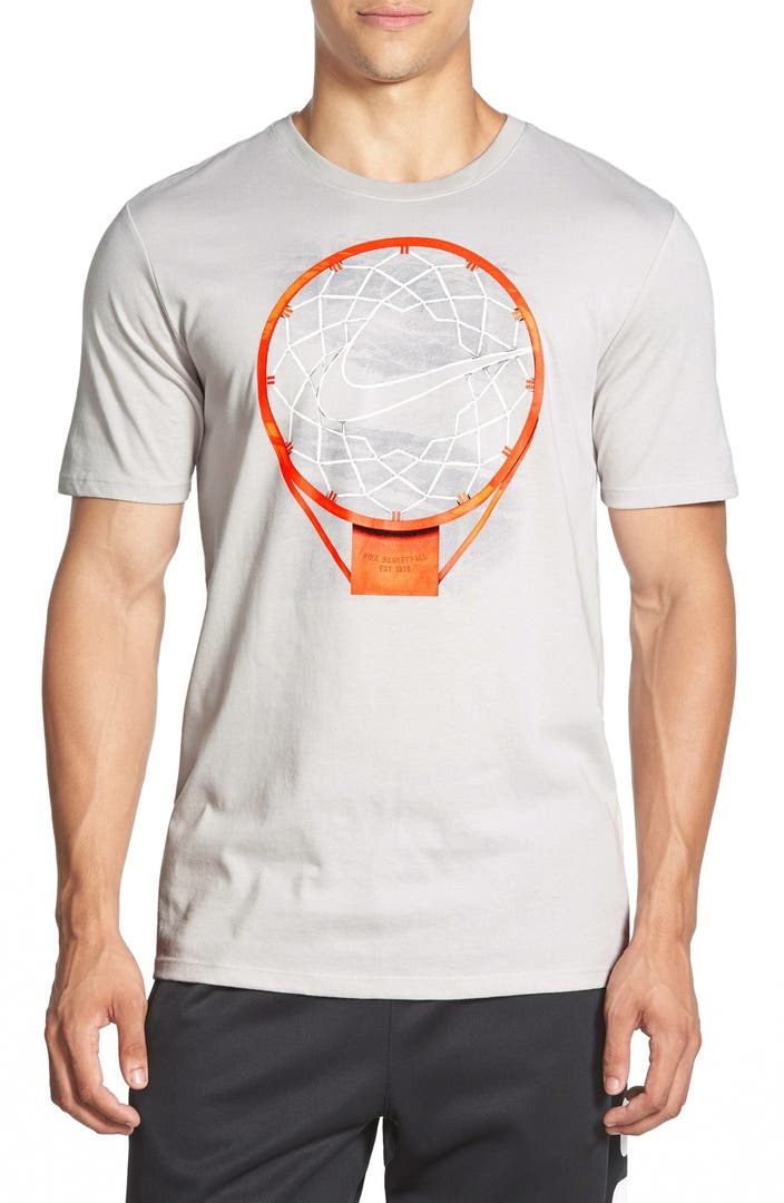 Nike 39 just net basketball 39 dri fit graphic t shirt for Nike t shirt price