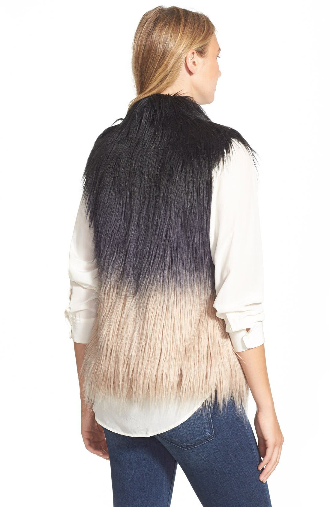 Alternate Image 2  - Buffalo by David Bitton Ombré Faux Fur Vest