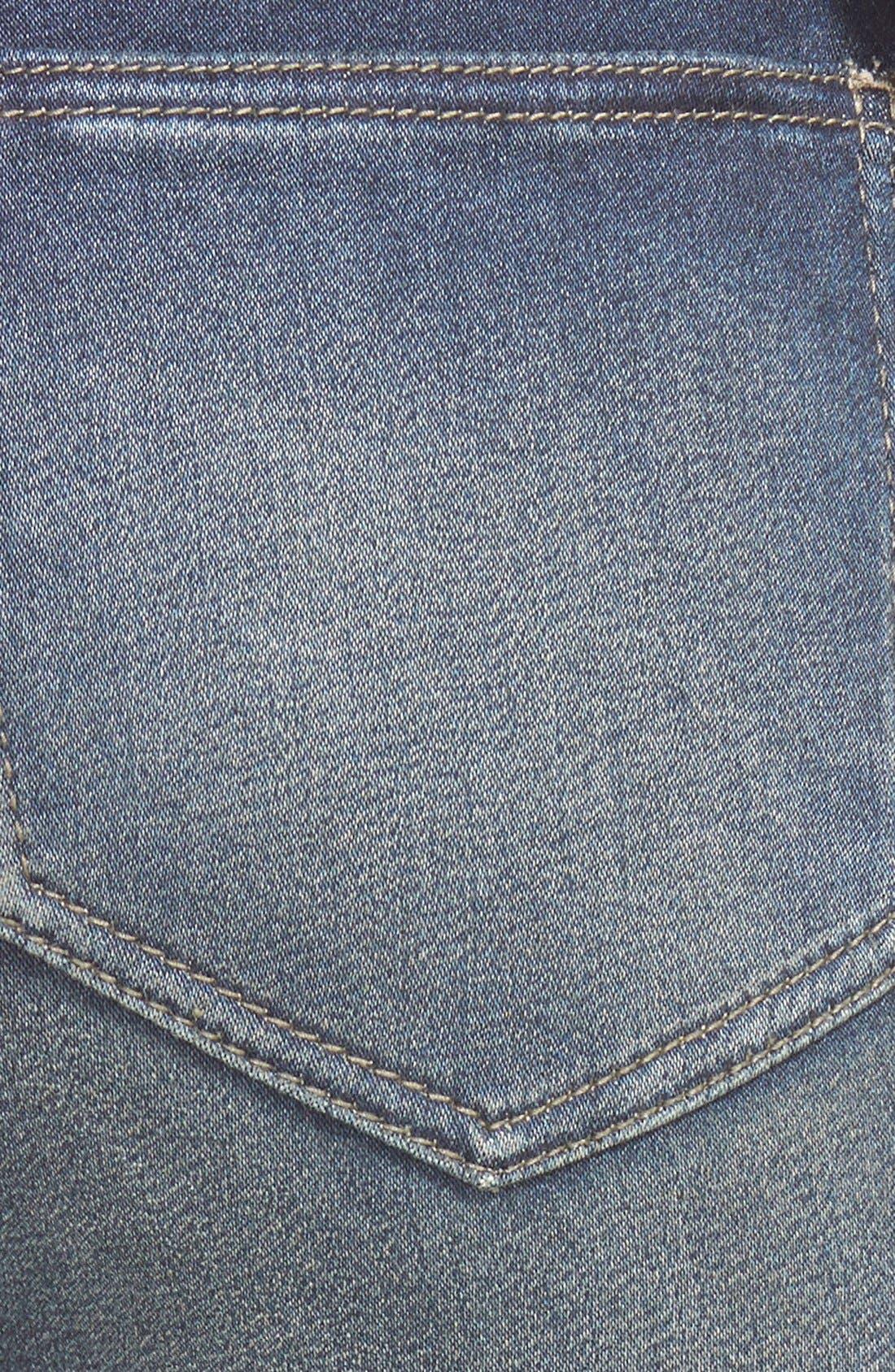 Alternate Image 3  - Generra High Waist Skinny Jeans