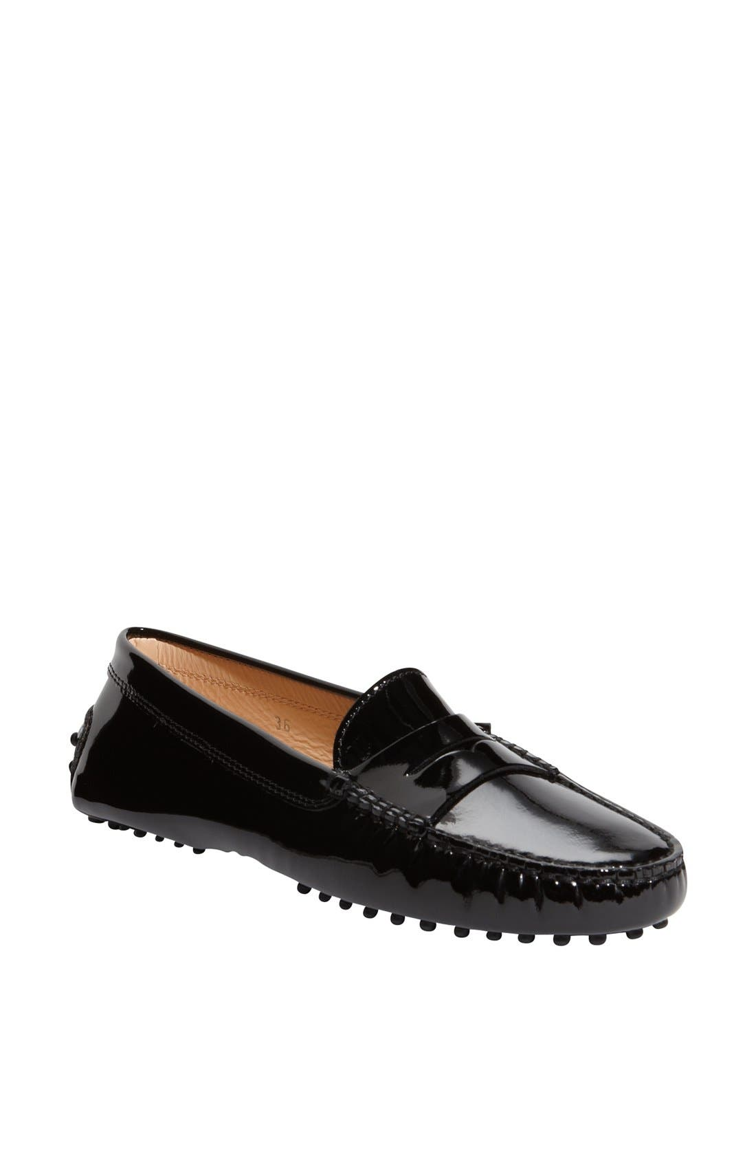 'Gommini' Moccasin,                         Main,                         color, Black