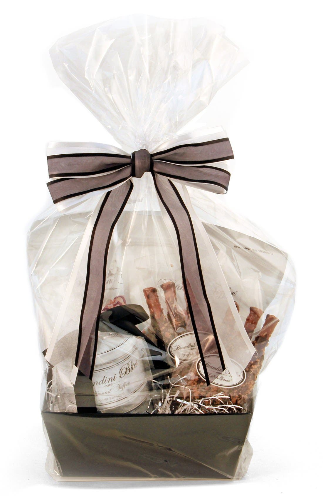 Alternate Image 2  - Brandini Toffee Medium Gift Basket