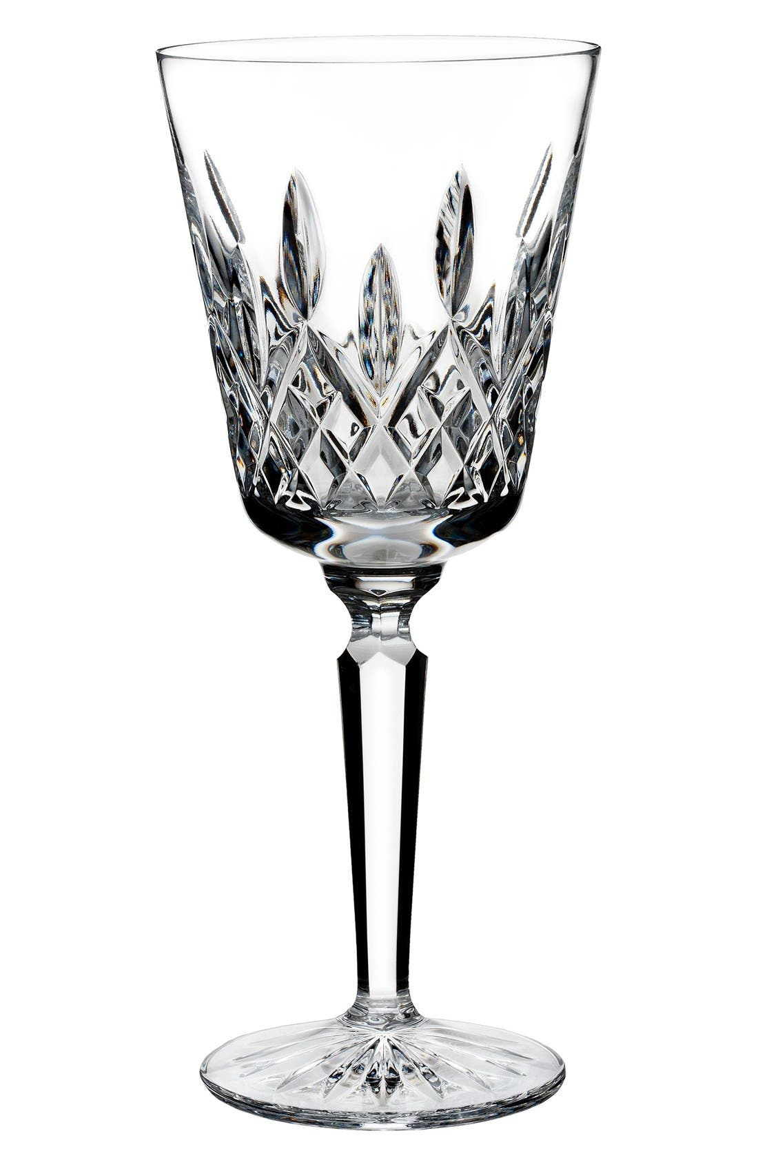 Waterford 'Lismore' Lead Crystal Wine Glass