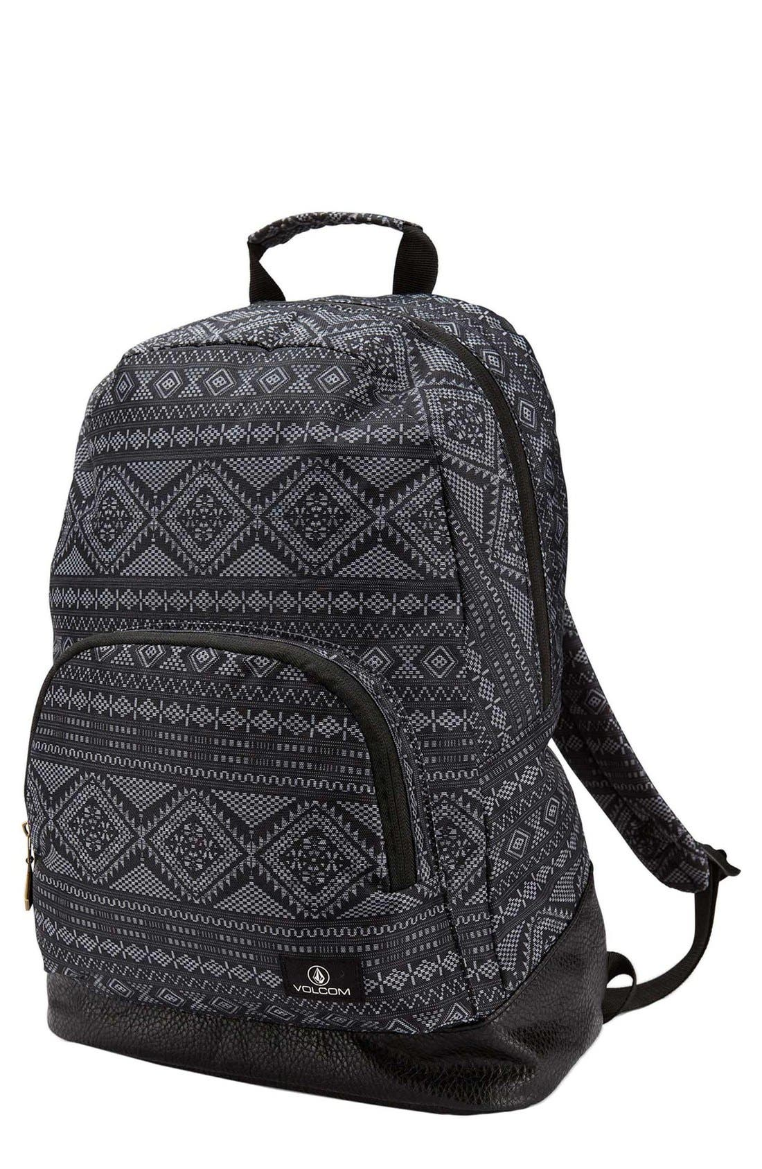 Alternate Image 1 Selected - Volcom 'Schoolyard' Print Backpack