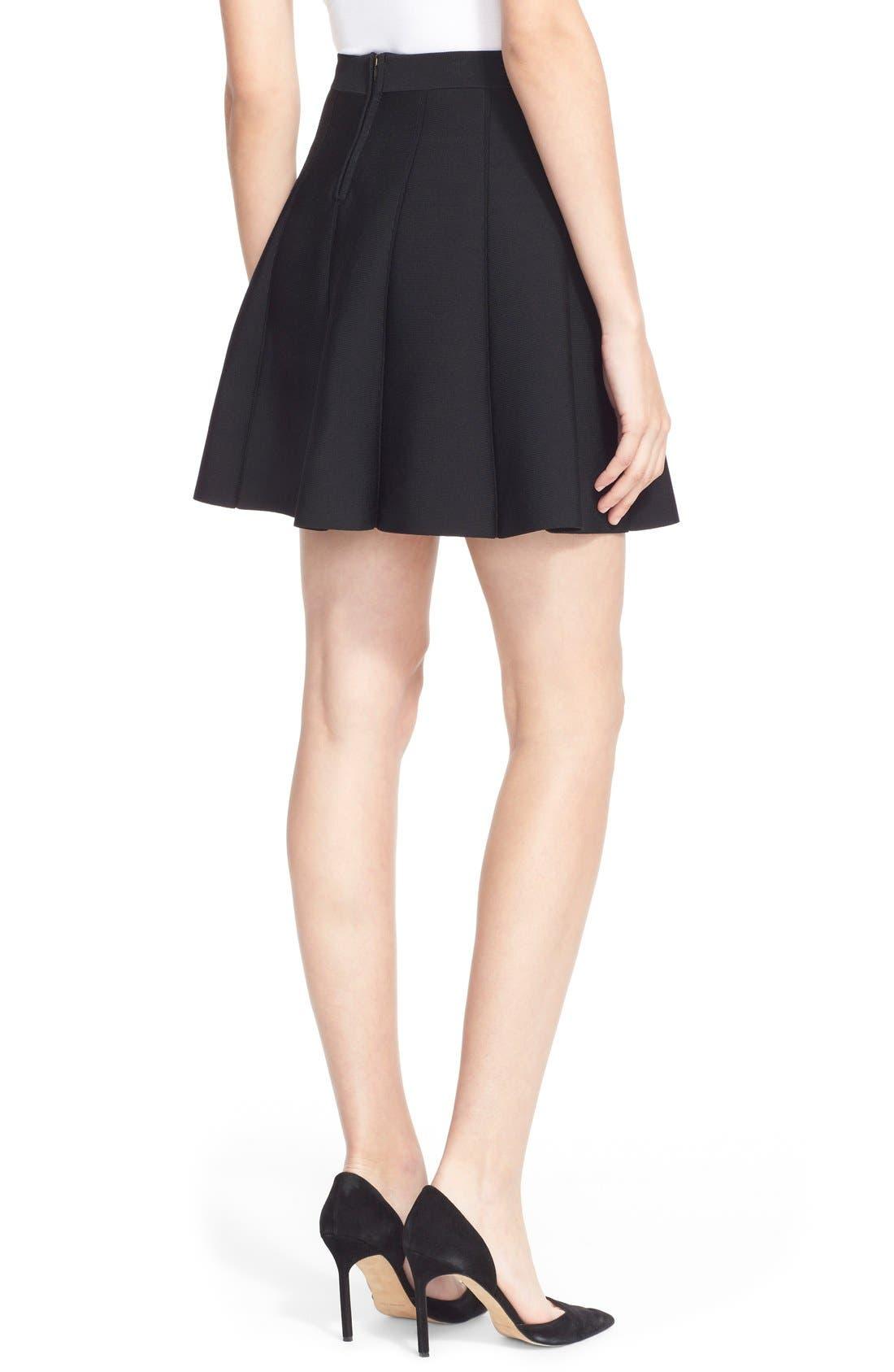 Alternate Image 2  - Parker 'Zoey' Pleat A-Line Skirt