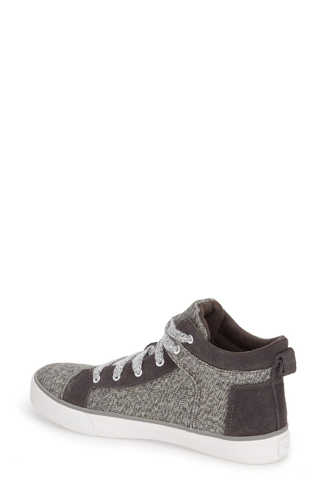 Alternate Image 2  - TOMS 'Camila' High Top Sneaker (Women)