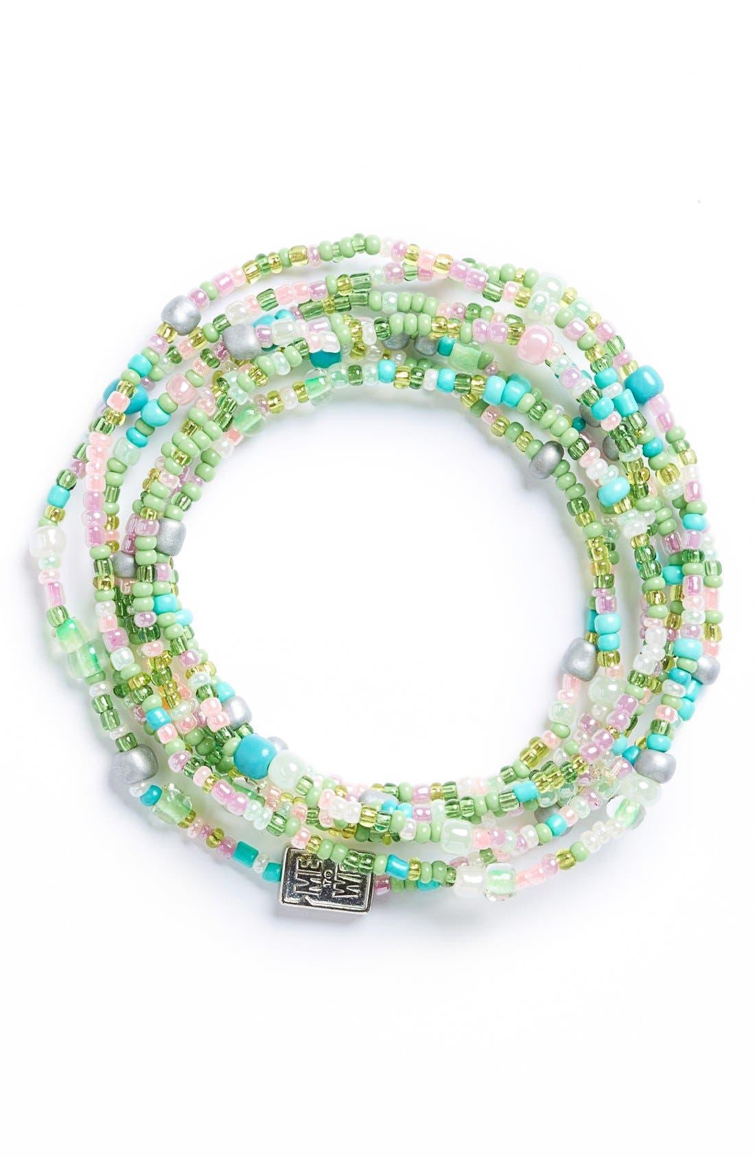 Alternate Image 1 Selected - Me to We 'Rafiki - Food' Beaded Convertible Bracelet
